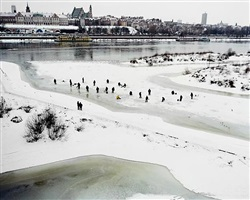wisla river [warsaw] by matthew sleeth